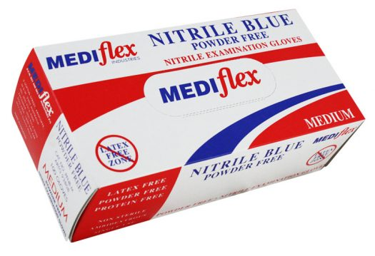 Nitrile Blue Powder Free