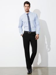 Classic Pleat Front Tailored Pant - Mens