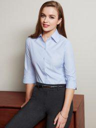 Ladies Ambassador Yarn Dyed Business Shirt